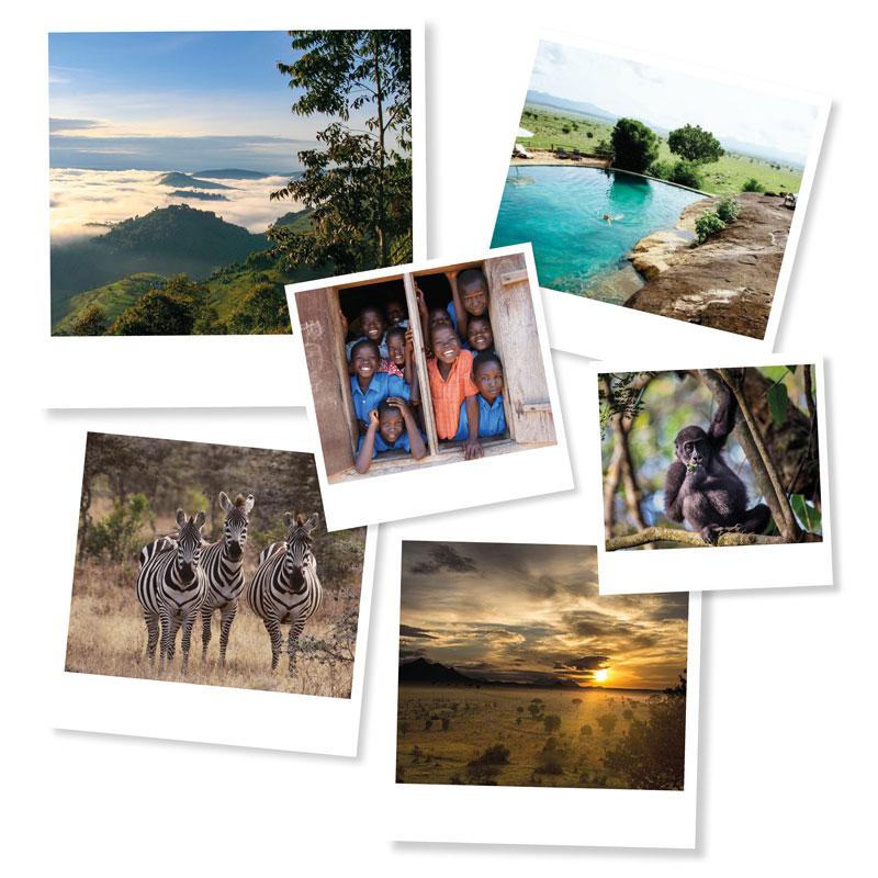 Uganda-polaroids